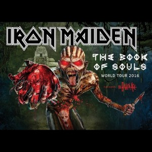 Iron Maiden – Žilina 6.7.2016